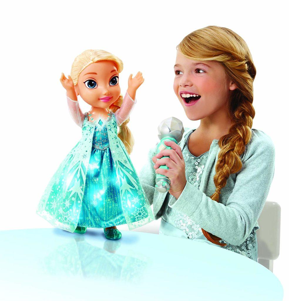 Elsa Frozen: muñeca que canta y habla