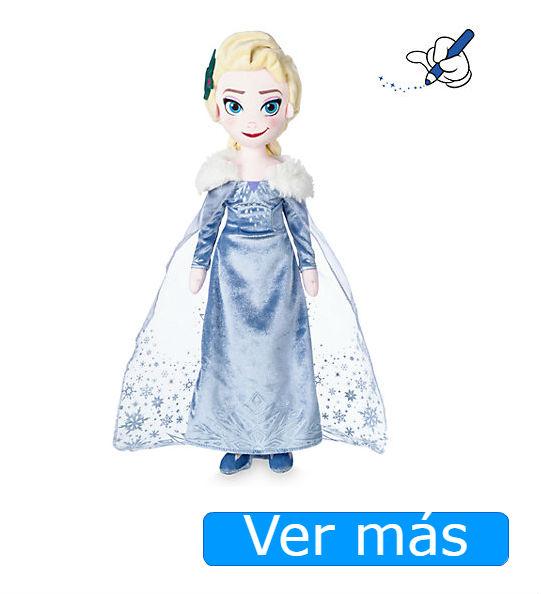 Elsa Frozen muñeca de peluche Shop Disney