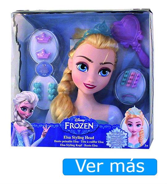 Elsa Frozen: muñeca para peinar