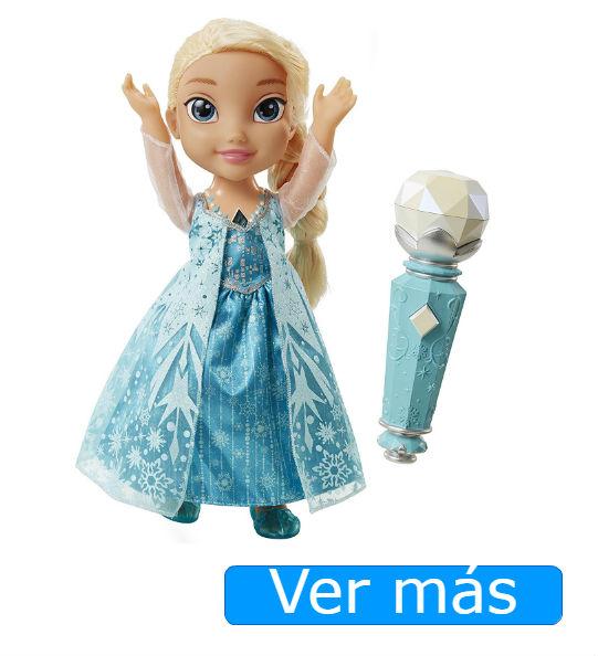 Elsa Frozen muñeca que canta y habla