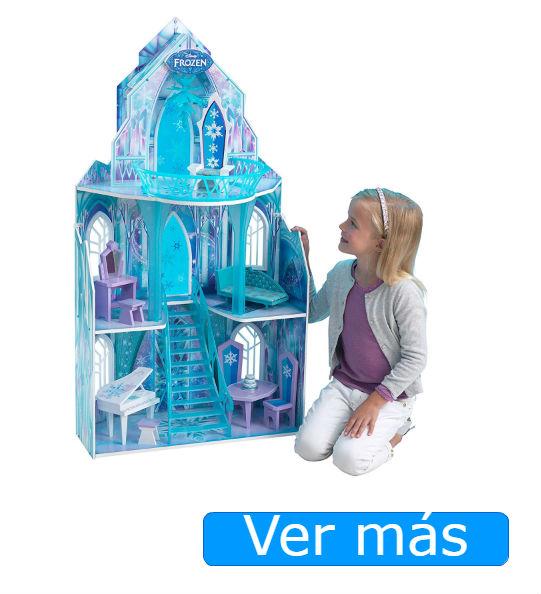 Palacio de Elsa en Frozen tipo casa de muñecas