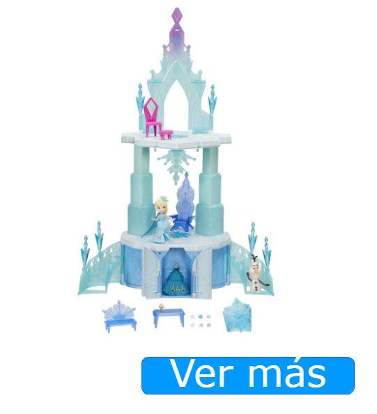 Elsa, de Frozen y su palacio de hielo