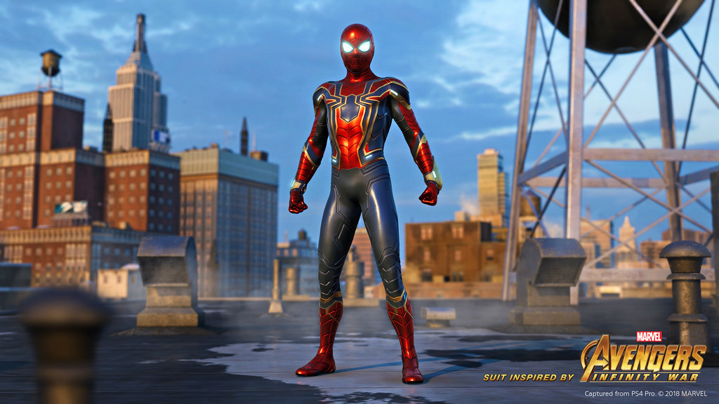 Traje de Iron Spider para PS4