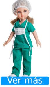 Día de la Enfermería: muñeca enfermera de quirofano