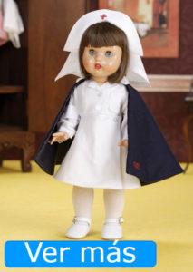Día de la Enfermería: muñeca enfermera Mariquita Pérez