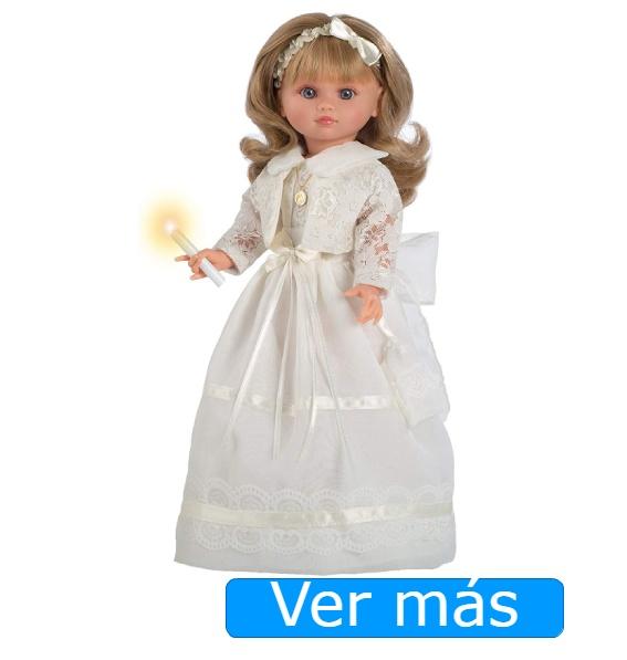 Muñeca de comunión Berbesa rubia