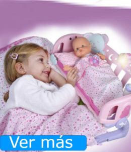 Muñecos para jugar a ser padres: Nenuco con cuna de colecho