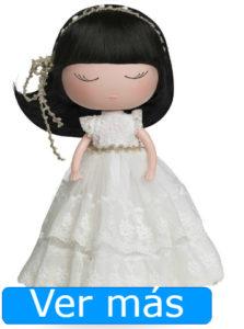 Muñecas de comunión: Anekke con vestido de tul
