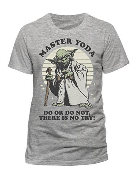 Camisetas de Yoda: camiseta unisex gris