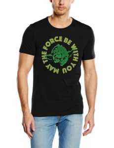 Camisetas de Yoda: May the force