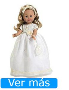 Muñecas de comunión: muñeca de comunión rubia