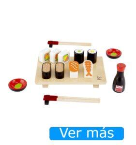 Alimentos de madera-Sushi de juguete
