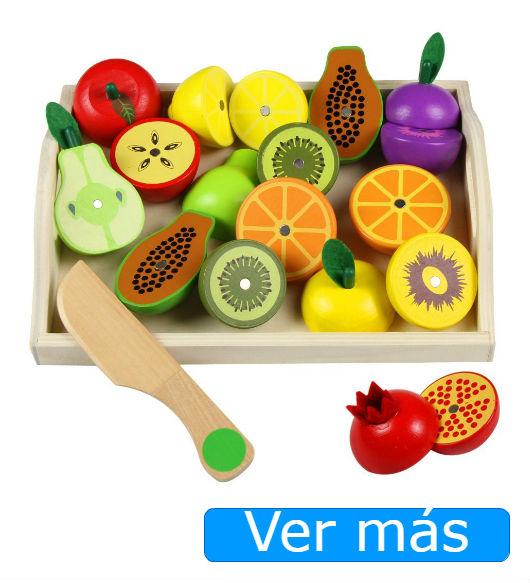 Alimentos de madera: frutas