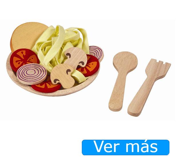 Comida de juguete: alimentos de madera Plan Toys