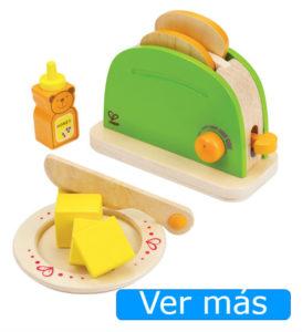 Utensilios de cocina de juguete: tostadora de juguete Hape