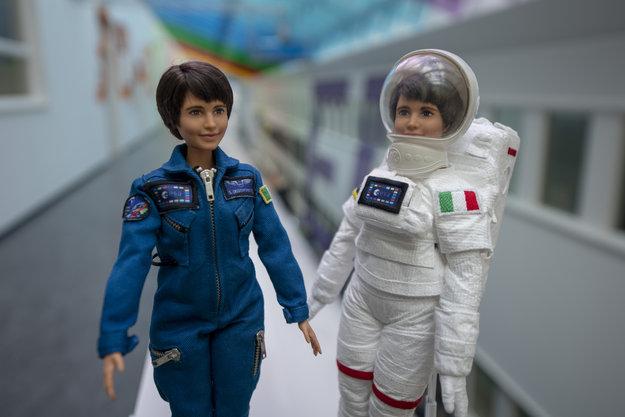 Juguetes de astronauta: Barbie astronauta Samantha Cristoforetti