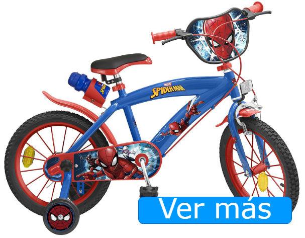 Bicicletas para niños Spiderman