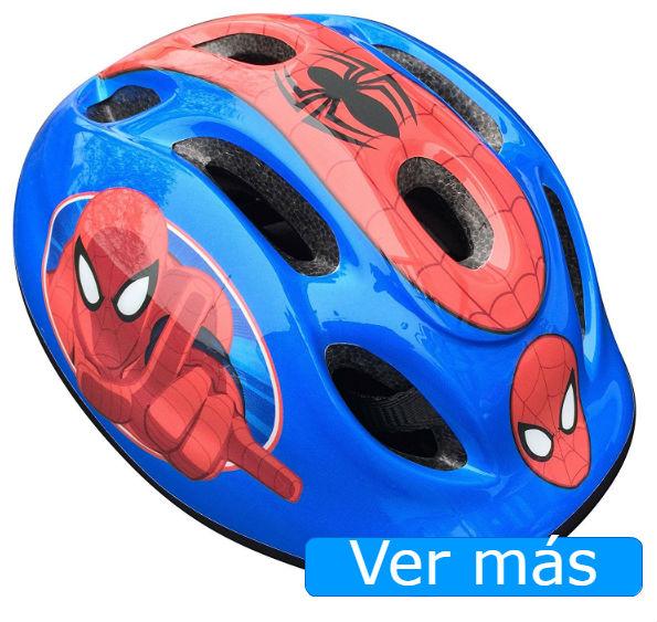 Bicicletas para niños casco Spiderman