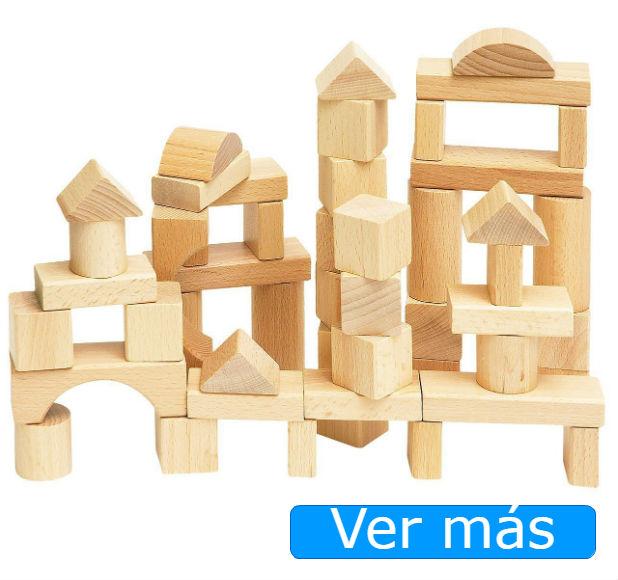 Juguetes de madera para bebés de 1 año: bloques