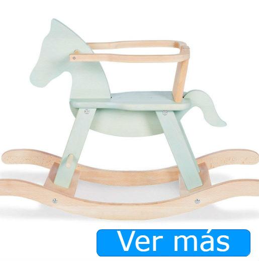 Juguetes de madera para bebés de 1 año: balancín