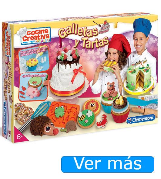 Campamentos Masterchef y otros regalos para peques cocinillas: juego para hacer galletas y tartas