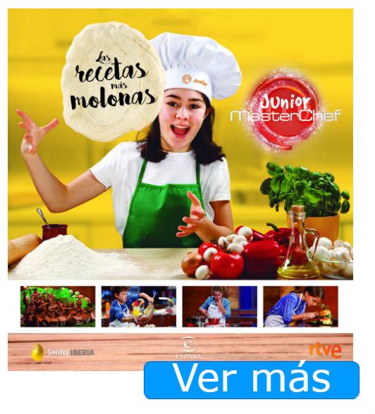 Campamentos Masterchef y otros regalos para peques cocinillas: libro Masterchef Junior