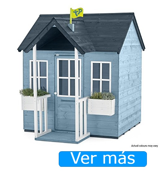 Casa de jardín de madera TP Toys