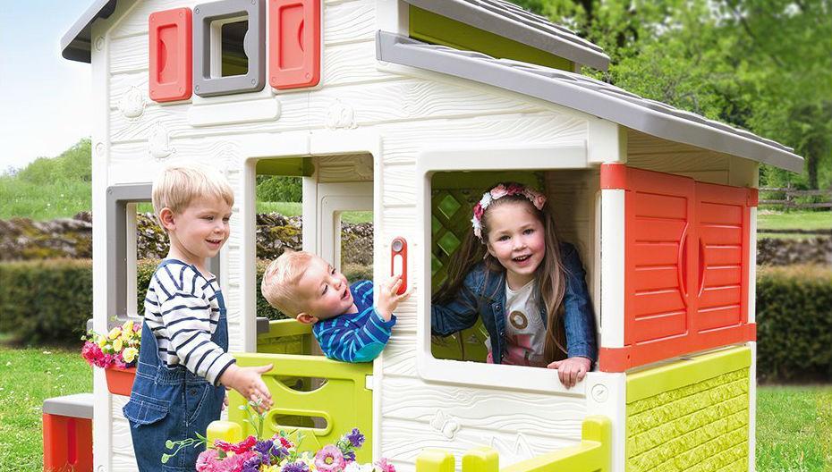 Casas de jardín para niños: 10 modelos que merecen mucho la pena