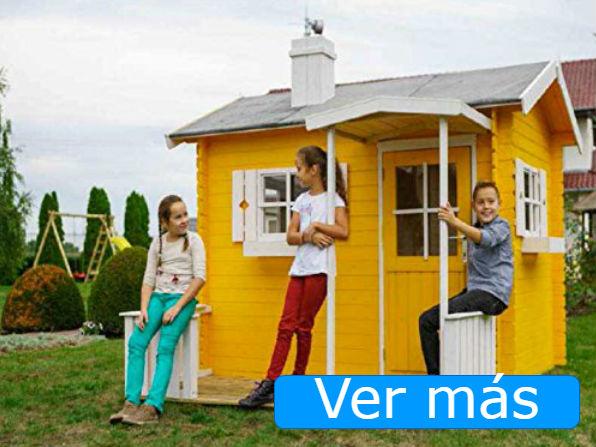 Casas de jardín para niños: casas de lujo