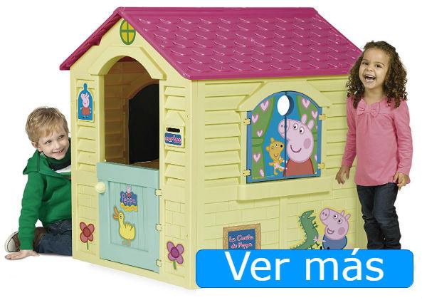 Casas de jardín para niños: casa de jardín de Peppa Pig