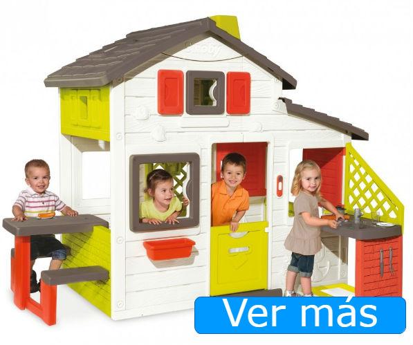 Casas de jardín para niños con cocinita