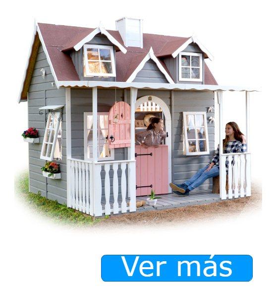 Casitas de madera para niños Green House