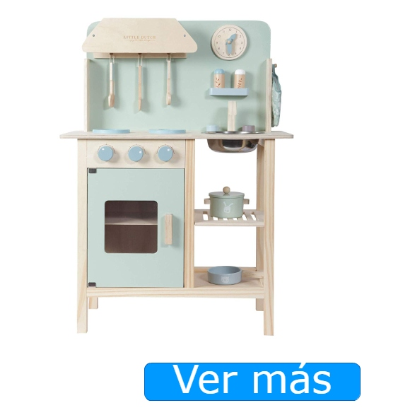 Cocinita de madera Adventure Little Dutch