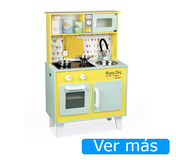Cocinita de madera Happy Day de Janod