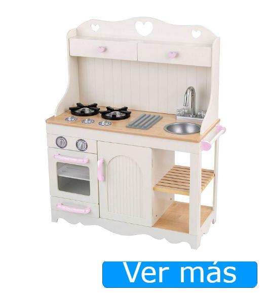 Cocinita de madera KidKraft estilo campero