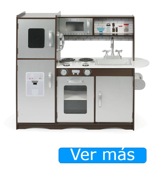 Cocinita de madera con nevera Bayer Chic 2000