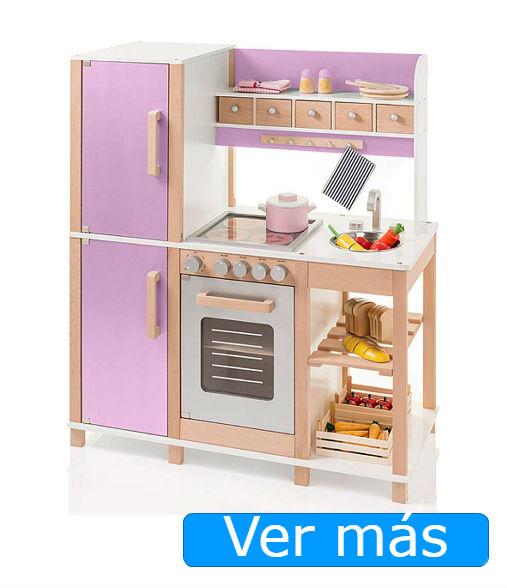Cocinitas de madera: cocinita de haya en lila