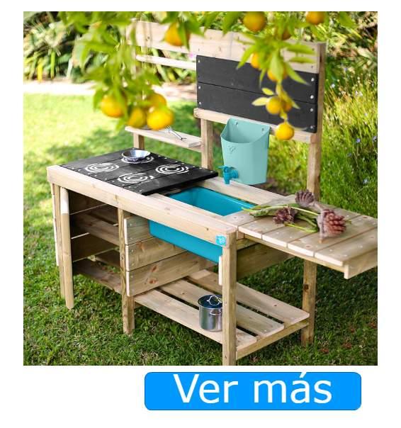 Cocinitas de madera de exterior. TP Toys