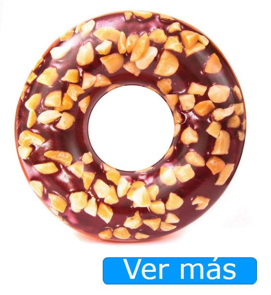 Flotadores gigantes Amazon: donuts realista
