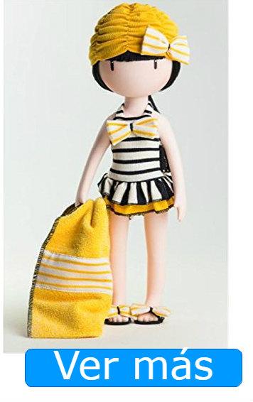 Muñecas Gorjuss: traje baño