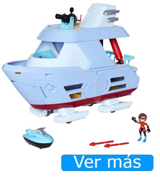 Juguetes de Los Increíbles: Elastigirl muñeca y barco de Los Increíbles 2