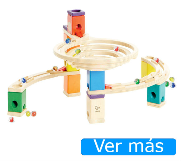 Juguetes de madera circuitos de canicas