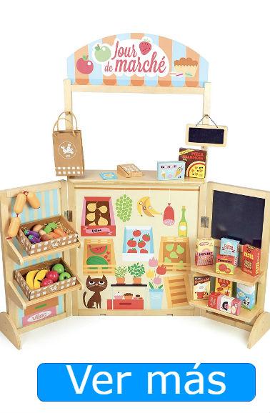 Supermercado de juguete de madera Vilac
