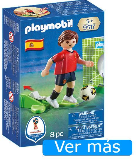 Jugar el mundial: Playmobil jugador de España