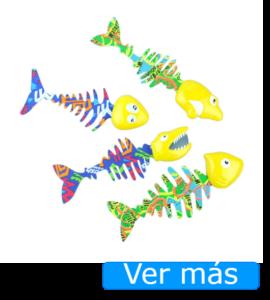 Juguetes para piscina peces