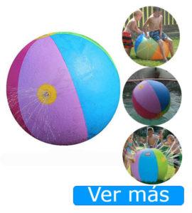 Juguetes para piscina: pelota aspersor