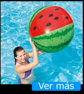 Juguetes para piscina: pelota sandía