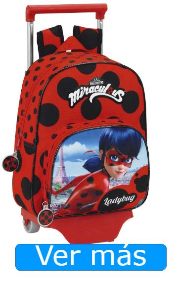Mochilas Ladybug carro extraible peques
