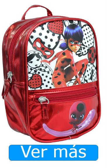 Mochilas Ladybug: mochila metalizada