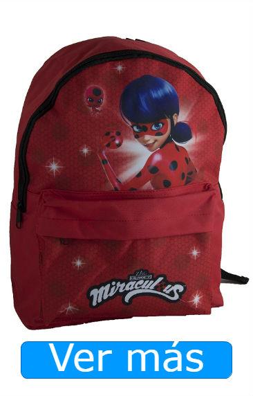 Mochilas Ladybug mochila roja discreta